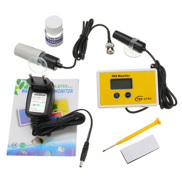Wattson WS-TDS2702 1ppm Resolution Online TDS Monitor Water Quality Online Analyzer Tester