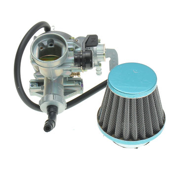 Carb Carburettor ATV Air Filter For Honda 3 Wheeler ATC110 1979-1985