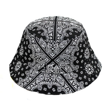 Women Bucket Paisley Hiking Flower Hats Hunting Fishing Outdoor Fisherman Caps