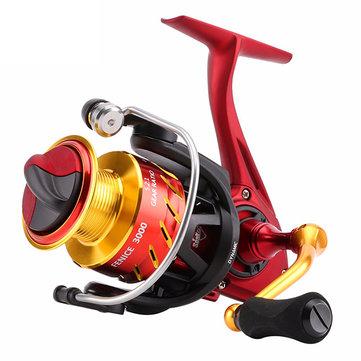 SeaKnight FENICE 2000/3000/4000 Spinning Fishing Reel 5.2:1 10+1BB Carbon Fiber Drag System Wheel