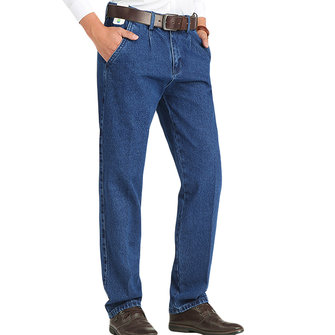 Mens Straight Leg Business Spring Summer Mid Rise Jeans