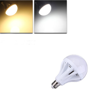 E27 15W 55 SMD 2835 Pure White/Warm White LED Globe Light Bulb 220V