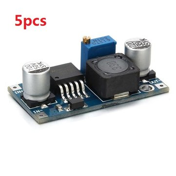 5Pcs LM2596 DC-DC Adjustable Step Down Power Supply Module