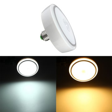 E27 12W PIR Infrared Motion Sensor LED Night Light Ceiling Down Lamp Bulb AC85-265V