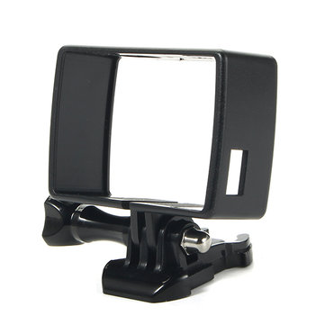 Protective Housing Side Frame Mount for Xiaomi Yi 4K Sports Camera Black PC Material
