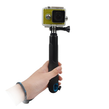 Flexible Antiskid Anti Lost Selfie Stick for Sports Camera for GoPro