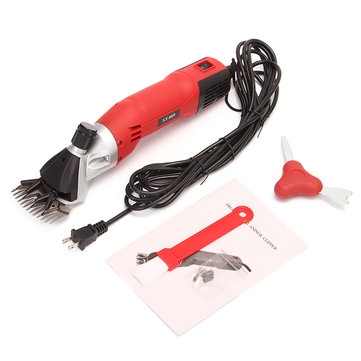 110V 500W Sheep Clipper Goats Shears Shearing Clipper Electric Shearing Machine