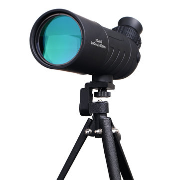 IPRee 20x60/16x52 Traveller Monocular HD Telescope Optic Lens Bird Watching High Definition View Eyepiece