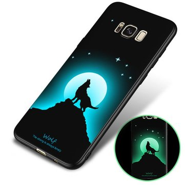 Bakeey 3D Night Luminous Protective Case For Samsung Galaxy S8 Plus