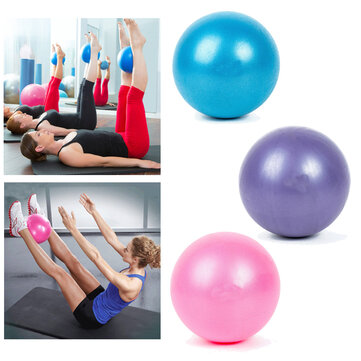 KALOAD 25cm Yoga Ball Sports Fitness Core Ball Pilates Balance Ball Massage Ball For Slimming Exercise Training