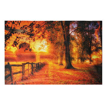 9x6FT Vinyl Fall Scenic Autamn Photography Photo Studio Prop Background Backdrop