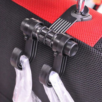 RUNDONG Multifunctional Car Seat Back Hooks Brackets Hanger
