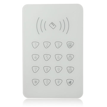 GS-K07 RFID Wireless Password Keypad 433MHz for GSM Home Security Alarm System