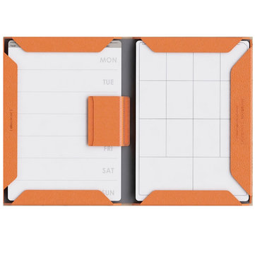 Flexible PU Magnet Notebook Record Book Daily Memos Business Meeting Creative Office Stationery