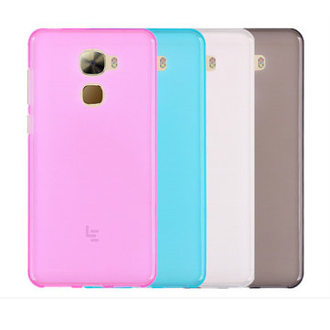 Ultra Thin Anti-Scratch Pudding TPU Soft Scrub Back Case For LeTV Leeco Le Pro 3
