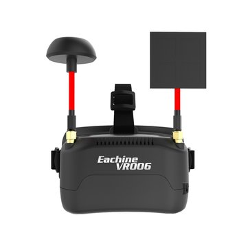 Eachine VR006 VR-006 3 inch 500 * 300 Display 5.8G 40CH Mini FPV Goggles Bouwen in 3.7V 500mAh Batterij