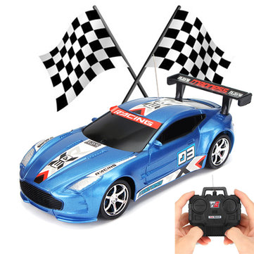 1:24 Drift Speed Wireless 4 Channel Remote Control Racing Car Truck Toy Gift