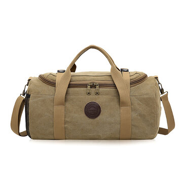 Men Travel Duffle Bag Business Holdall Bag Outdoor Canvas Travel Bag