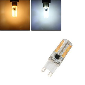Dimmable E17 E11 E12 BA15D G4 G8 G9 3W 72 SMD 4014 LED Warm White White Corn Bulb Light AC220V
