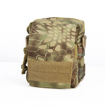 FAITH PRO Outdooors Camping Tactical Wasit Bag Pack EDC Molle Hunting Camouflage Pouch Multifunctions