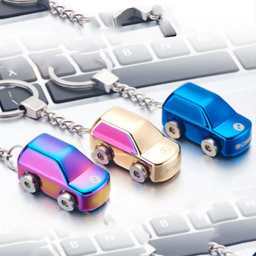 Mini Car Key Chain Electric Lighter USB Rechargeable Windproof Arc Lighter