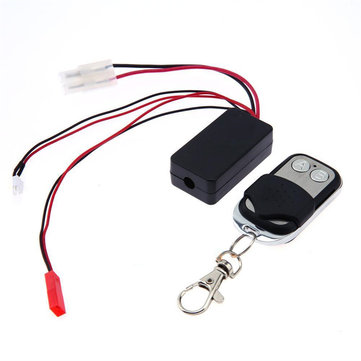 Automatic Crawler Winch Control Wireless Remote Receiver 1:10 RC Car D90 SCX10
