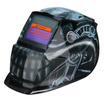 Solar Auto Darkening Welder Welding Helmet Head Shield Grinding Mask