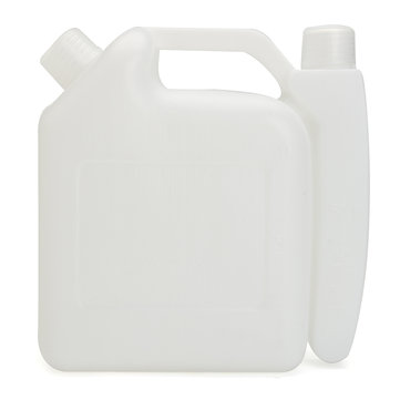 1L 2 Stroke Oil Petrol Fuel Mixing Bottle Tank Container 25:1 50:1 for Chainsaw Trimmer
