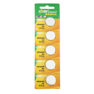 5pcs CR2016/CR2025/CR2032 Button Lithium Battery