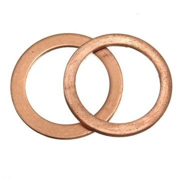 Copper Exhaust Crush Gasket for Motorcycle Pit Bike 50cc 110cc 125cc 140cc 160cc