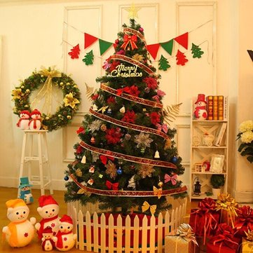Colorful Detachable Removable Merry Christmas Tree DIY Hanging Home Party Decoration