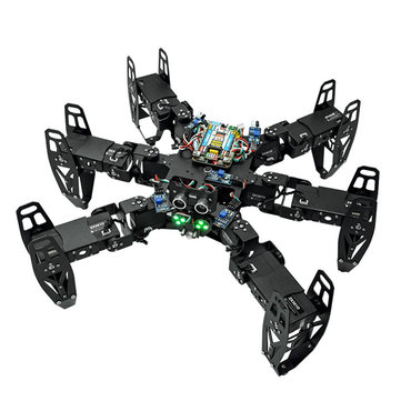 ZL-TECH QF-6 6-Legged Arduino DIY RC Robot APP Stick Control Obstacle Avoidance Educational Kit