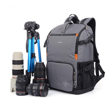 Multifunctional Anti shock Backpack Photography Oxford Travel DSLR Camera Bag