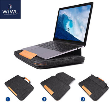 WIWU per Macbook Lenovo Xiaomi Notebook 15.4 inch Bracket Laptop Bag