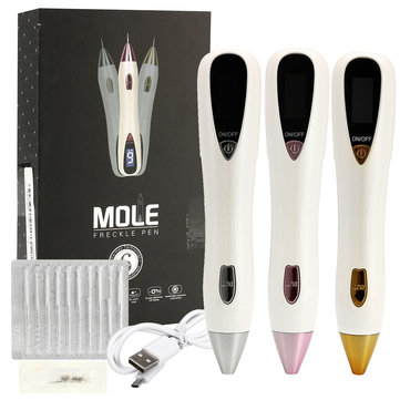 LCD Display Laser Mole Removal Pen Freckle Wart Removal