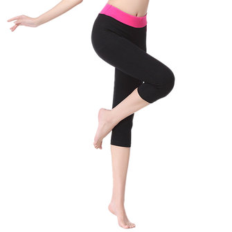 Women Elastic Tight Yoga Dancing Sport Leggings