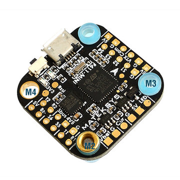 Matek System 20x20mm F411-mini Mini F4 Flight Controller AIO OSD BEC and LED Strip for RC Drone