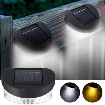 ソーラーパワー8 LEDウォールライト屋外防水IP65ガーデンフェンスランプ