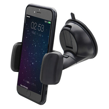 Universal 360 Degree Rotation Suction Cup Dashboard Windshield Phone Holder Stand for Mobile Phone