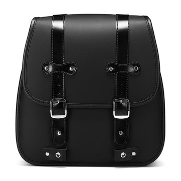 Motorcycle PU Leather Left Side Saddlebags For Harley Davidson 883 Rear Large Size