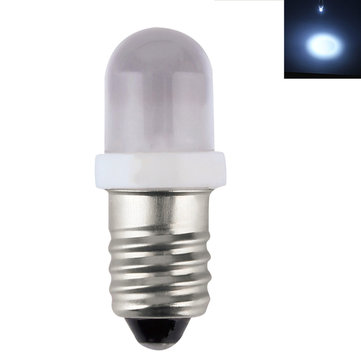 E10 0.2W Cool White Blinker Low Consumption LED Light Bulb DC6V