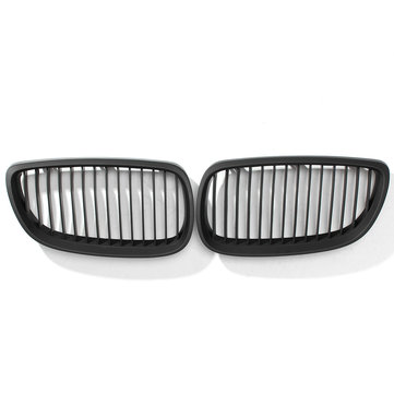 Black Matt Grille For BMW 3 Series E92 E93 And For Coupe Cabriolet 2006-2010