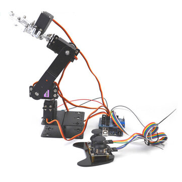 Small Hammer SNAR23 DIY Arduino 4DOF Metal RC Robot Arm With MG996 Servo PS2 Stick