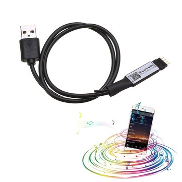 DC5V 6A 72W Mini USB Smart APP Wireless LED Bluetooth Remote Controller for RGB Strip Light