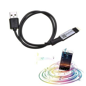 DC5V 6A 72W Mini USB Smart APP Wireless LED Bluetooth Remote Controller for RGB Strip Light