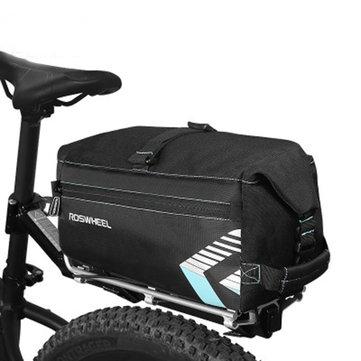 ROSWHEEL 6L Велосипед Сумка Задняя стойка багажника Сумка Патрон для велосипеда Waterprrof Pannier с наплечным ремнем Сумка