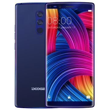 DOOGEE MIX 2 5.99 Inch Face Unlock 4060mAh 6GB RAM 64GB ROM Helio P25 2.5GHz Octa Core 4G Smartphone