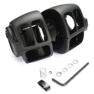 US$19 50 Pair Aluminum Handlebar Housing Switch Cover Harley Sportster Dyna  Softail V-Rod Motorcycle from Automobiles & Motorcycles on banggood com
