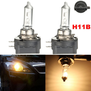 2 x 55W 12V 3000K H11B Halogen Headlight Light Lamp Clear Bulbs Replacement