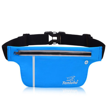 Women Men Outdoor Sports Running Waist Bags Noctilucent Belt